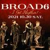 BROAD6『I Got Rhythm !』 ブルーノート東京の画像
