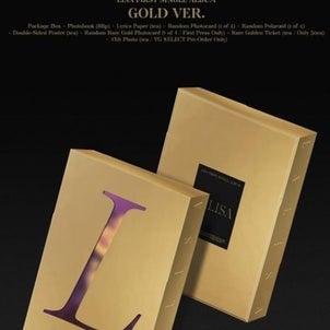 LISA 1st シングルアルバム「LALISA」購入代行の画像