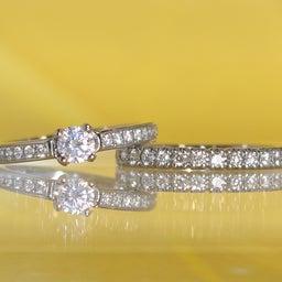 画像 アニバーサリーリングや婚約指輪としてもぴったりのエタニティリング✧*【AFFLUX京都雅店】 の記事より 6つ目