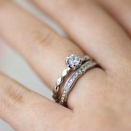 画像 アニバーサリーリングや婚約指輪としてもぴったりのエタニティリング✧*【AFFLUX京都雅店】 の記事より 10つ目