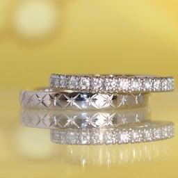 画像 アニバーサリーリングや婚約指輪としてもぴったりのエタニティリング✧*【AFFLUX京都雅店】 の記事より 5つ目