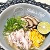 自家製鶏ハムで『鶏飯風スープご飯』♡の画像