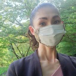 画像 手づくりの素敵なマスクカバーを頂きました♪ の記事より 1つ目