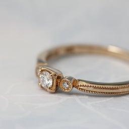 画像 綺麗に重なるパーフェクトセットリング♡結婚指輪をご紹介!【AFFLUX京都雅店】 の記事より 2つ目