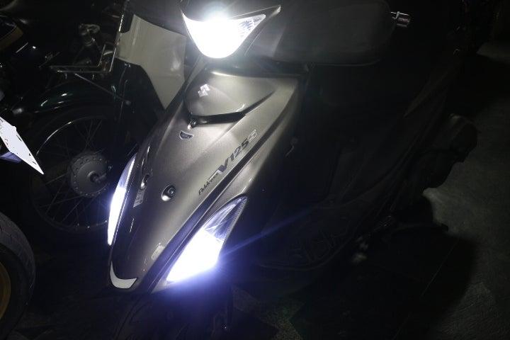 アドレスV125S 161ccボアアップ中古車 LEDウインカーポジショ