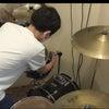 ドラムのセッティングからやってみようかな(^_^)の画像
