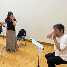 画像 今日も稽古でしたよ〜オペラ『卍』‼️ の記事より 1つ目
