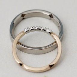 画像 綺麗に重なるパーフェクトセットリング♡結婚指輪をご紹介!【AFFLUX京都雅店】 の記事より 9つ目