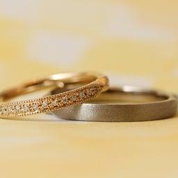 画像 綺麗に重なるパーフェクトセットリング♡結婚指輪をご紹介!【AFFLUX京都雅店】 の記事より 6つ目