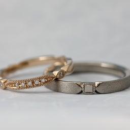 画像 綺麗に重なるパーフェクトセットリング♡結婚指輪をご紹介!【AFFLUX京都雅店】 の記事より 3つ目