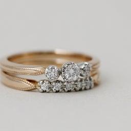 画像 綺麗に重なるパーフェクトセットリング♡結婚指輪をご紹介!【AFFLUX京都雅店】 の記事より 10つ目