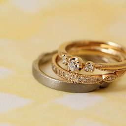 画像 綺麗に重なるパーフェクトセットリング♡結婚指輪をご紹介!【AFFLUX京都雅店】 の記事より 7つ目