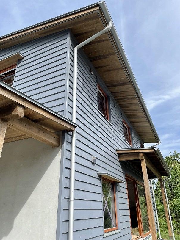那須塩原 木の家 高断熱高気密 UA値028 八溝杉 木製トリプルサッシ