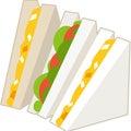 サンドイッチしりとり