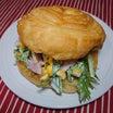 トーストロール(水菜コールスロー)サンド