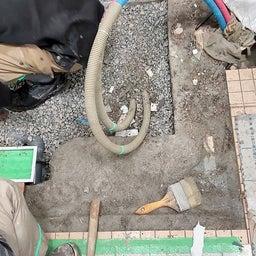 画像 9/15(水)高岡町 T園様 幼児用シャワーパン設置工事 解体作業 の記事より 4つ目