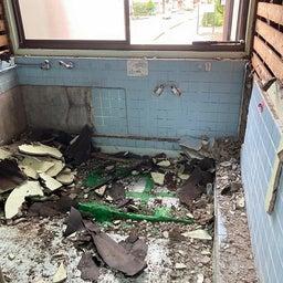 画像 9/15(水)瓜生野K様 H041 浴室・脱衣所床改修工事 スタート の記事より 3つ目