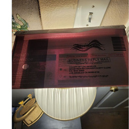 画像 カリフォルニア州のリコール選挙の郵便投票:透ける封筒 の記事より 4つ目