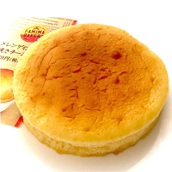 ♡ファミマの「メレンゲ仕立ての焼きチーズスフレ」がシンプルでおいしい♡