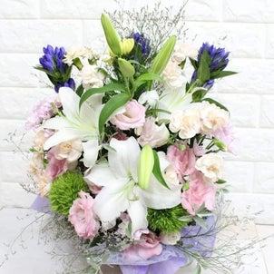 【お生花のお供えアレンジメント】の画像
