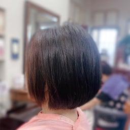 画像 #くせ毛に #美らヘナ #美ら藍 #キュビズムカット #最高のコンビ #キュビズムボブ の記事より 4つ目