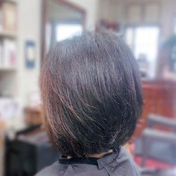 画像 #くせ毛に #美らヘナ #美ら藍 #キュビズムカット #最高のコンビ #キュビズムボブ の記事より 2つ目