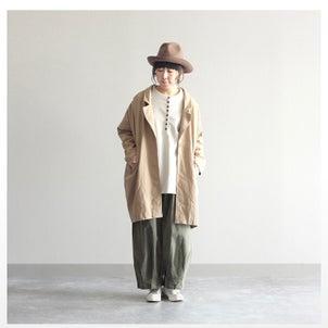 C.L.N ゆるトレンチジャケットの画像