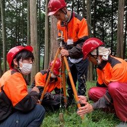 画像 林業女子、測量する! の記事より 7つ目
