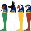 【ホルスの4人の息子 エジプトの神々㉞】