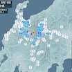 9月19日地震予想。飛騨地方震度4