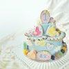 1歳のバースデーケーキをオーダーいただきました。お名前に因んだテーマでということで、「空...の画像