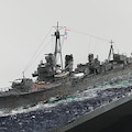 プラモさんといっしょ!1/700日本海軍 戦艦 大和 最終時 建造中!