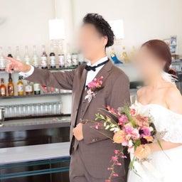 画像 ウェディングレポート ボリュームのあるトップスにスレンダーラインのバランスが絶妙なドレス の記事より 2つ目