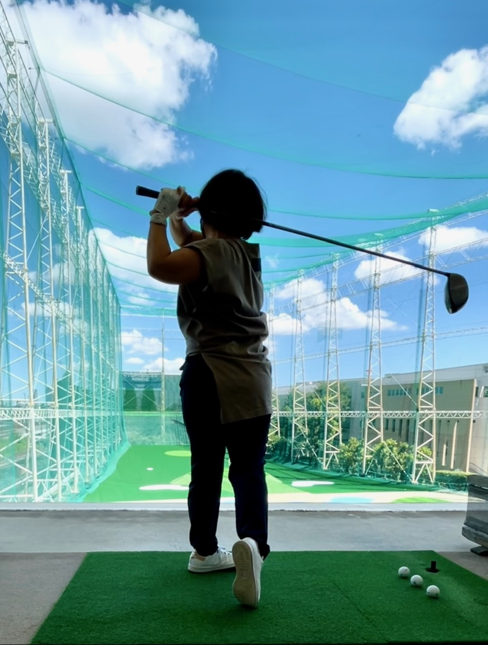 59歳の挑戦!ゴルフを始めました〜