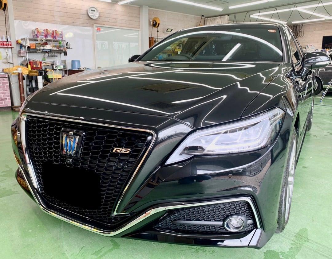 トヨタ クラウンRS 新車 ハイモースコート ザ・グロウ施工