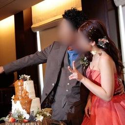画像 ウェディングレポート 会場が明るくなる目を引くオレンジのカラードレス の記事より 4つ目
