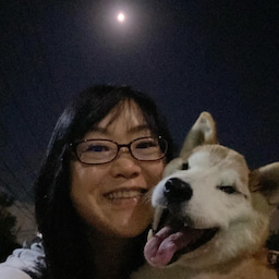 画像 愛犬と中秋の名月♪ の記事より 1つ目