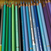 白黒映画を観ながら色鉛筆の整理♡小説の設定ミス?の画像