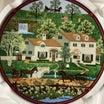 チャールズ ウィソッキーの絵皿 飾り皿