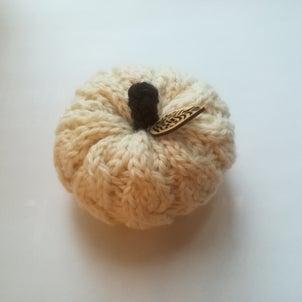 縄編みのかぼちゃの画像