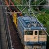 2021.9.23 工9366レ 宝殿工臨返空 EF65 1128 新大阪-東淀川の画像
