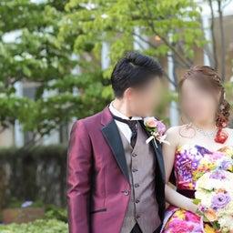 画像 ウェディングレポート 色鮮やかなカラードレス M/mika ninagawa の記事より 1つ目