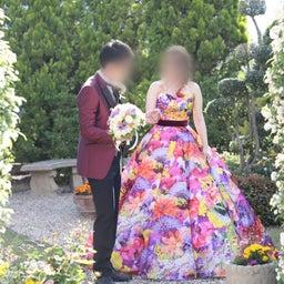 画像 ウェディングレポート 色鮮やかなカラードレス M/mika ninagawa の記事より 2つ目