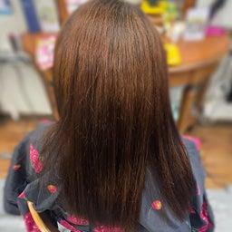 画像 #唯一無二の #髪質改善  #切れ毛 #水膨潤 #くせ毛 #美らヘナ #前方後円墳塗り  の記事より 8つ目