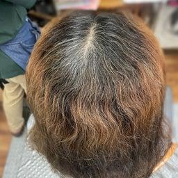 画像 #唯一無二の #髪質改善  #切れ毛 #水膨潤 #くせ毛 #美らヘナ #前方後円墳塗り  の記事より 4つ目