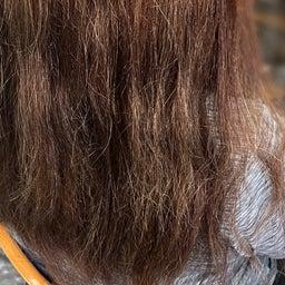 画像 #唯一無二の #髪質改善  #切れ毛 #水膨潤 #くせ毛 #美らヘナ #前方後円墳塗り  の記事より 3つ目