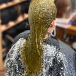 画像 #唯一無二の #髪質改善  #切れ毛 #水膨潤 #くせ毛 #美らヘナ #前方後円墳塗り  の記事より 6つ目