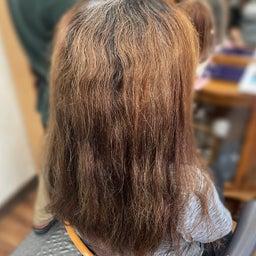 画像 #唯一無二の #髪質改善  #切れ毛 #水膨潤 #くせ毛 #美らヘナ #前方後円墳塗り  の記事より 2つ目