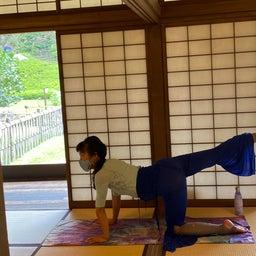 画像 夏日!鮮やか緑の日本庭園でたっぷりヨガ体験【写真・動画】 の記事より 9つ目