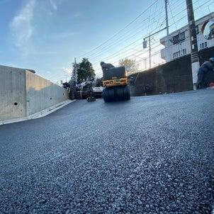 舗装工事79 坂道舗装の画像